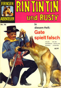 Cover Thumbnail for Fernseh Abenteuer (Tessloff, 1960 series) #90