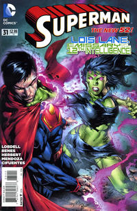Cover Thumbnail for Superman (DC, 2011 series) #31 [Direct Sales]