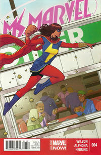 Cover Thumbnail for Ms. Marvel (Marvel, 2014 series) #4