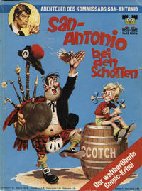 Cover Thumbnail for Bastei-Comic (Bastei Verlag, 1972 series) #12 - Die Abenteuer des Kommissars San-Antonio - San-Antonio bei den Schotten
