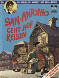 Cover Thumbnail for Bastei-Comic (Bastei Verlag, 1972 series) #18 - Die Abenteuer des Kommissars San-Antonio - San-Antonio geht auf Reisen