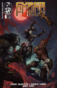 Cover Thumbnail for Cyber Force (Image, 2012 series) #9
