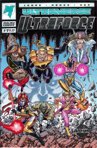 Cover for UltraForce (Malibu, 1994 series) #1 [Newsstand]