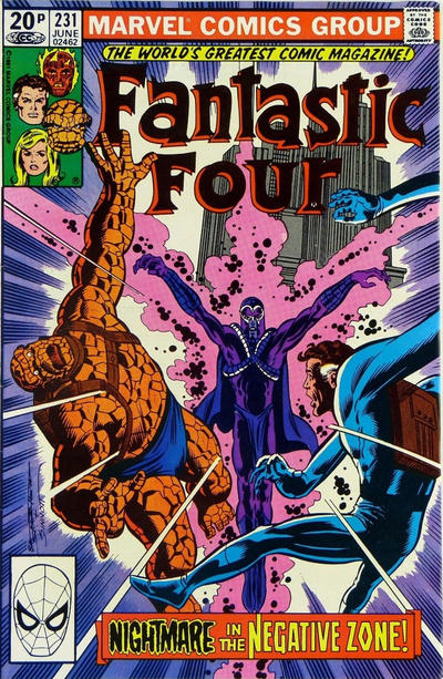 Cover for Fantastic Four (Marvel, 1961 series) #231 [Direct Edition]