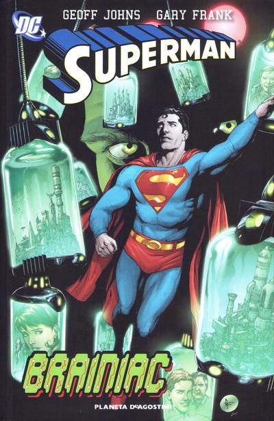 Cover for Superman de Geoff Johns (Planeta DeAgostini, 2011 series) #3 - Brainiac