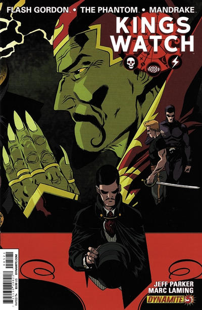 Cover for Kings Watch (Dynamite Entertainment, 2013 series) #5 [Exclusive Subscription Cover]