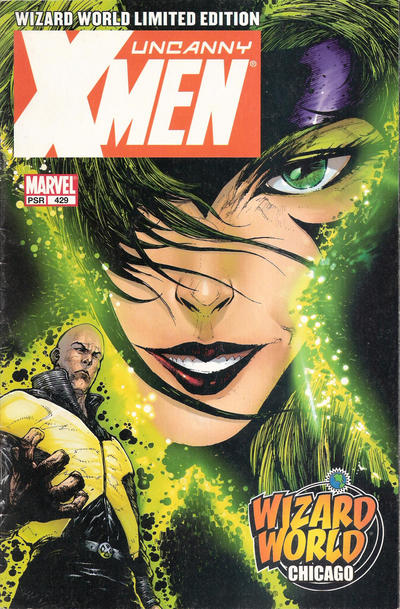 Cover for The Uncanny X-Men (Marvel, 1981 series) #429 [Direct Edition]