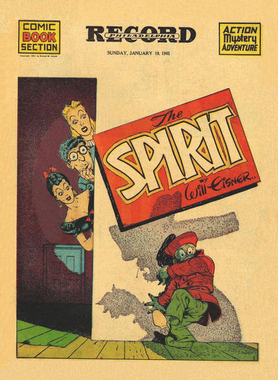 Cover for The Spirit (Register and Tribune Syndicate, 1940 series) #1/19/1941