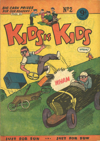 Cover for Kids Is Kids (Greendale, 1955 ? series) #2