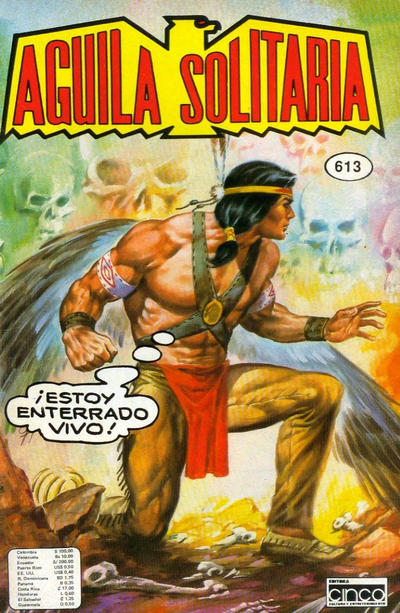 Cover for Aguila Solitaria (Editora Cinco, 1976 ? series) #613