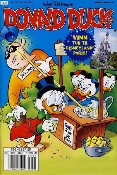 Cover for Donald Duck & Co (Hjemmet / Egmont, 1948 series) #20/2014