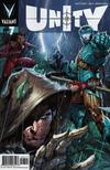 Cover for Unity (Valiant Entertainment, 2013 series) #7 [Cover A - Trevor Hairsine]