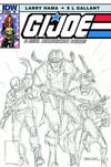 Cover Thumbnail for G.I. Joe: A Real American Hero (2010 series) #186 [Larry Hama Retailer Incentive Cover]