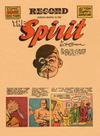 Cover Thumbnail for The Spirit (1940 series) #3/23/1941 [Philadelphia Record edition]