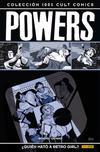 Cover for 100% Cult Comics. Powers (Panini España, 2009 series) #1