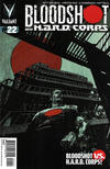 Cover Thumbnail for Bloodshot and H.A.R.D.Corps (2013 series) #22 [Cover B - Roberto De La Torre]