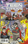 Cover for Teen Titans (DC, 2011 series) #19 [MAD Magazine Cover]