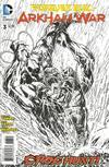 Cover for Forever Evil: Arkham War (DC, 2013 series) #3 [Jason Fabok Black & White Cover]