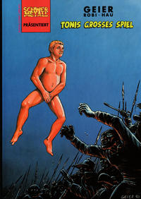 Cover Thumbnail for Schwermetall präsentiert (Kunst der Comics / Alpha, 1986 series) #35 - Tonis großes Spiel