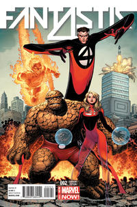 Cover Thumbnail for Fantastic Four (Marvel, 2014 series) #2 [Arthur Adams Cover]