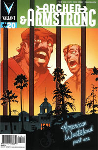 Cover Thumbnail for Archer and Armstrong (Valiant Entertainment, 2012 series) #20 [Cover A - Shawn Crystal]