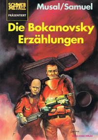Cover Thumbnail for Schwermetall präsentiert (Kunst der Comics / Alpha, 1986 series) #49 - Die Bokanovsky Erzählungen