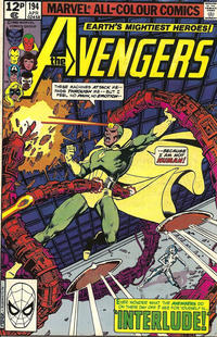 Cover Thumbnail for The Avengers (Marvel, 1963 series) #194 [British]