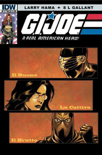 Cover Thumbnail for G.I. Joe: A Real American Hero (IDW, 2010 series) #176 [Cover A]