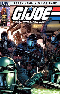 Cover Thumbnail for G.I. Joe: A Real American Hero (IDW, 2010 series) #176 [Cover B]