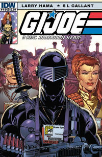 Cover for G.I. Joe: A Real American Hero (IDW, 2010 series) #180 [Cover RI - Incentive Larry Hama Sketch Variant]