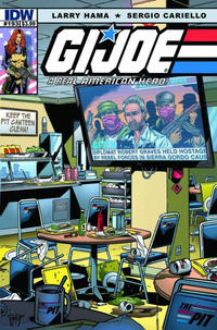 Cover Thumbnail for G.I. Joe: A Real American Hero (IDW, 2010 series) #193
