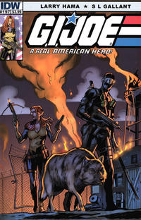 Cover Thumbnail for G.I. Joe: A Real American Hero (IDW, 2010 series) #197