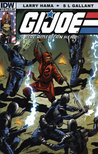 Cover Thumbnail for G.I. Joe: A Real American Hero (IDW, 2010 series) #187