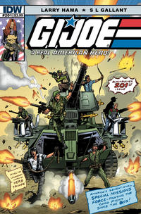 Cover Thumbnail for G.I. Joe: A Real American Hero (IDW, 2010 series) #201 [S. L. Gallant]
