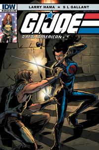 Cover Thumbnail for G.I. Joe: A Real American Hero (IDW, 2010 series) #202 [S. L. Gallant]