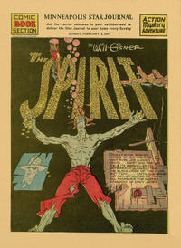 Cover Thumbnail for The Spirit (Register and Tribune Syndicate, 1940 series) #2/2/1941 [Minneapolis Star Journal edition]
