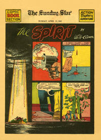Cover Thumbnail for The Spirit (Register and Tribune Syndicate, 1940 series) #4/13/1941 [Washington DC Star edition]