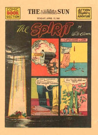 Cover Thumbnail for The Spirit (Register and Tribune Syndicate, 1940 series) #4/13/1941 [Baltimore Sun edition]