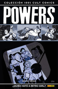 Cover for 100% Cult Comics. Powers (Panini España, 2009 series) #1