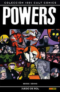 Cover for 100% Cult Comics. Powers (Panini España, 2009 series) #2