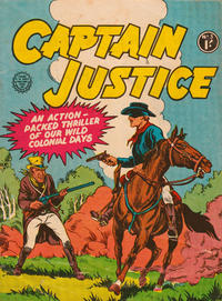 Cover Thumbnail for Captain Justice (Horwitz, 1963 series) #3