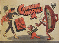 Cover Thumbnail for Captain Marvel Jr. (Cleland, 1947 series) #28