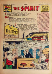 Cover Thumbnail for The Spirit (Register and Tribune Syndicate, 1940 series) #7/30/1950