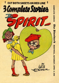 Cover Thumbnail for The Spirit (Register and Tribune Syndicate, 1940 series) #4/6/1941 [Montreal Standard edition]