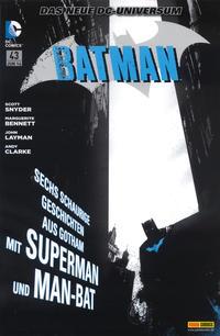 Cover Thumbnail for Batman Sonderband (Panini Deutschland, 2004 series) #43 - Schreckensnächte in Gotham City