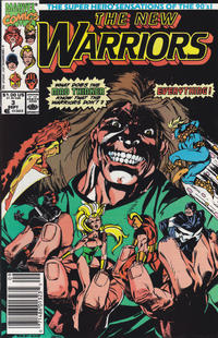 Cover Thumbnail for The New Warriors (Marvel, 1990 series) #3 [Newsstand]