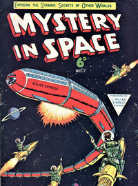 Cover Thumbnail for Mystery in Space (L. Miller & Son, 1955 ? series) #7