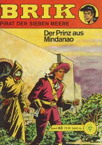Cover Thumbnail for Brik (Lehning, 1962 series) #43