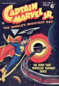 Cover Thumbnail for Captain Marvel Jr. (L. Miller & Son, 1953 series) #3