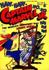 Cover Thumbnail for Captain Marvel Jr. (L. Miller & Son, 1953 series) #4